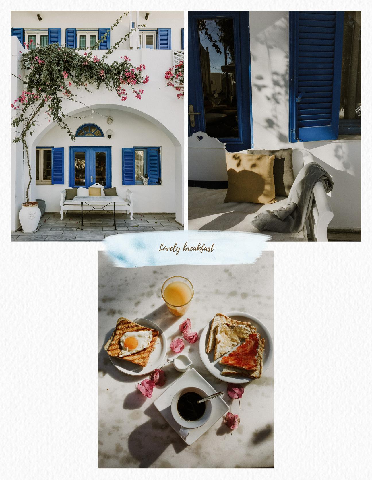 Breakfast in Mesaria